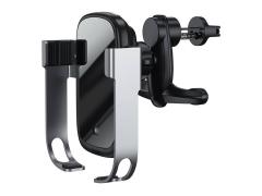 کیت پایه نگهدارنده و شارژر وایرلس سریع بیسوس Baseus Rock-Solid Electric Holder Wireless Fast Charger Kit 10W