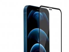 محافظ صفحه نمایش شیشهای نیلکین آیفون ۱۲ و ۱۲ پرو - Nillkin iPhone 12/12 Pro PC Full coverage ultra clear