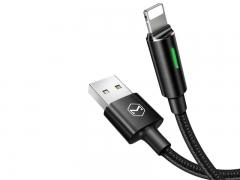 کابل هوشمند شارژ و انتقال داده لایتنینگ Mcdodo Auto Disconnect Lightning Cable 1.8m CA-460