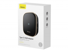هاب چند منظوره بیسوس Baseus Type-C HUB Adapter AC Multifunctional Charger
