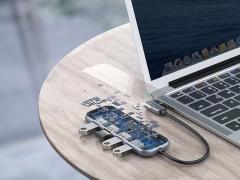 هاب چهار پورت بیسوس Baseus CAHUB-EZ0G Multi-functional HUB
