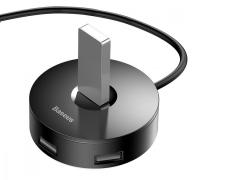 هاب 4 پورت یو اس بی بیسوس Baseus C30A-03 round box HUB adapter 1m