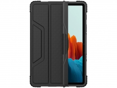 کیف بامپردار تبلت سامسونگ اس 7 نیلکین Nillkin Samsung Galaxy Tab S7 Bumper Leather Case