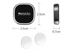 پایه نگهدارنده آهن ربایی گوشی Yesido C81 Magnetic Car Holder