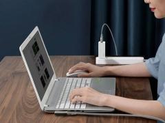 کابل دو سر تایپ سی به سوزنی لپ تاپ بیسوس Baseus Flash one for two Fast Charge Cable 100W 2m