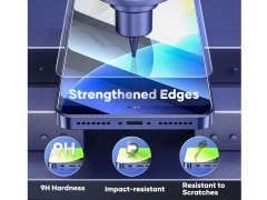 Rock Tempered Glass Protector Iphone 12 Pro Max 2pcs 2.5D
