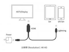 Onten OTN-7519 Mobile HD Screen Player 4K 180cm