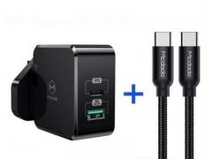 Mcdodo CH-693 PD+Quick Charge Travel Charger Set 30W
