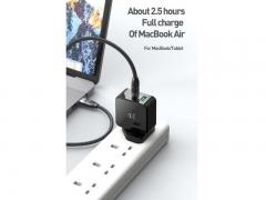 شارژر سریع و کابل شارژ مک دودو Mcdodo CH-693 PD+Quick Charge Travel Charger Set 30W