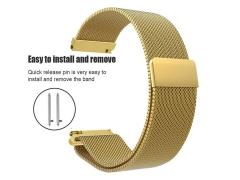 بند فلزی ساعت هوشمند سامسونگ گیر اس 2  Smart watch metal strap Samsung Gear S2 20mm