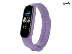 بند سیلیکونی دستبند سلامتی می بند ۵ - Xiaomi Mi Band 5 Silicone Bracelet
