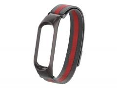 بند فلزی حصیری اسپرت دستبند سلامتی شیائومی می بند ۵ Xiaomi Mi Band 5 Sport Metal Magnetic Strap