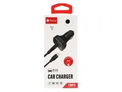 شارژر فندکی همراه کابل لایتنینگ پرووان ProOne PCG15L Lightning Car Charger