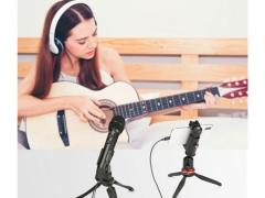 میکروفون باسیم دستی بویا Boya BY-HM2 Digital Cardioid Condenser Electret Microphone