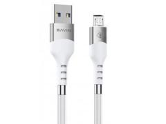کابل شارژ و انتقال داده میکرو یو اس بی باوین Bavin CB-196 Micro USB Cable 1m