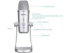 میکروفون کاندنسر بویا Boya BY-PM700SP USB Microphone