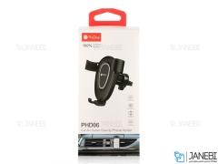 پایه نگهدارنده شیشه و دریچه کولری گوشی موبایل پرووان ProOne PHD-06 Car Holder
