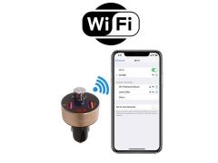 شارژر فندکی با قابلیت پخش موسیقی و تماس باوین Bavin PC378 Bluetooth Car Charger