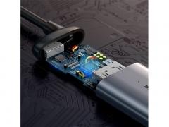 مبدل USB-C به VGA بیسوس Baseus CAHUB-V0G Type-C to VGA HUB