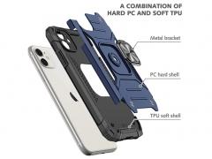 قاب محافظ حلقه دار آیفون Apple iphone 11 Finger Ring Case