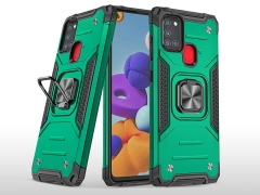قاب محافظ حلقه دار هواوی Samsung Galaxy A21s Finger Ring Case
