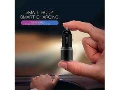 شارژر فندکی سریع و کابل میکرو یو اس بی باوین Bavin PC376 Micro USB Car Charger