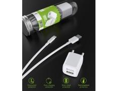 شارژر دیواری کابل میکرو یو اس بی باوین Bavin PC399Y Micro USB Charger
