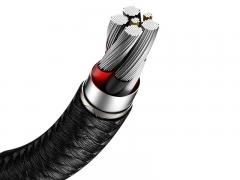 کابل تایپ سی سریع هواوی بیسوس Baseus Metal Data Cable 40W Type-C Cable 2m