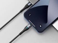 کابل آهنربایی دوسر تایپ سی سریع بیسوس Baseus Zinc Magnetic Type-C to iP PD 20W Cable 1m