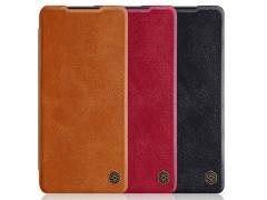 کیف چرمی نیلکین سامسونگ Nillkin Qin Leather Case Samsung S21 Plus