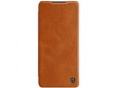 کیف چرمی نیلکین سامسونگ Nillkin Qin Leather Case Samsung S21