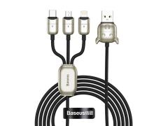 کابل سه سر طرح گاو بیسوس Baseus Year of the Ox One-for-three Data Cable