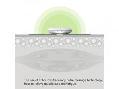 پد یدک ماساژور جیبی شیائومی Xiaomi Massage Sticker pad LR-H008