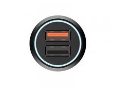 شارژر فندکی شارژ سریع دو پورت 70mai Midrive CC02 QC3.0 Car Charger