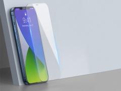 محافظ صفحه نمایش شیشه ای دوتایی بیسوس آیفون Baseus 0.3mm Glass iPhone 12 Pro Max