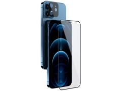 محافظ صفحه نمایش شیشه ای و محافظ لنز نیلکین آیفون Nillkin Amazing 2in1 HD Full Glass iPhone 12