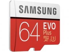 کارت حافظه میکرو اسدی سامسونگ Samsung EVO Plus micro sdxc Memory Card 64GB