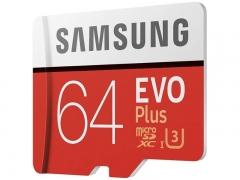 کارت حافظه میکرو اسدی سامسونگ Samsung EVO Plus micro sdhc Memory Card 64GB