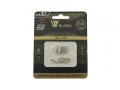 فلش مموری دبلیو کینگ W-KING Wk-310 USB 3.1 Flash Memory 64GB