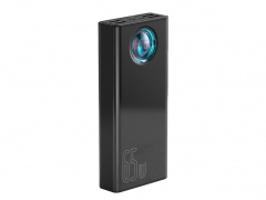 پاوربانک ۳۰۰۰۰ فست شارژ بیسوس ۶۵ وات Baseus Amblight Digital Display QuickCharge PowerBank 65W 30000mAh