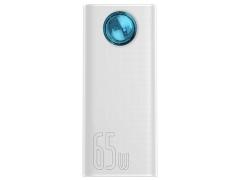 پاوربانک ۳۰۰۰۰ فست شارژ بیسوس ۶۵ وات Baseus Amblight Digital Display QuickCharge PowerBank 30000mAh