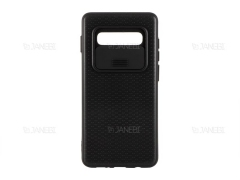 قاب محافظ با درپوش کشویی لنز سامسونگ Lens protector Case Samsung Galaxy S10 Plus
