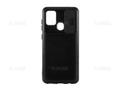 قاب محافظ با درپوش کشویی لنز سامسونگ Lens protector Case Samsung Galaxy A21s