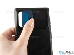 قاب محافظ با درپوش کشویی لنز سامسونگ Lens protector Case Samsung Galaxy Note 10 Plus