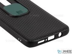 قاب محافظ با درپوش کشویی لنز سامسونگ Lens protector Case Xiaomi Redmi Note 8 Pro