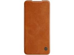 کیف چرمی نیلکین سامسونگ Nillkin Qin Leather Case Samsung Galaxy A32 5G