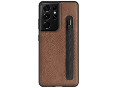 قاب چرمی نیلکین سامسونگ Nillkin Aoge Leather Case Samsung Galaxy S21 Ultra
