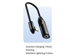 مبدل لایتنینگ به لایتنینگ و صدا توتو Totu EAUC-21 Revival Audio Converter