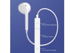 هندزفری با سیم لایتنینگ توتو Totu EAUL-11 Glory Lightning wire headset