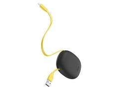 کابل شارژ و انتقال داده لایتنینگ بیسوس Baseus Little Reunion One-Way Stretchable iP Cable 1m